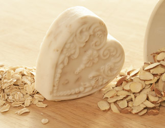 Almond Oatmeal Glycerin Soap