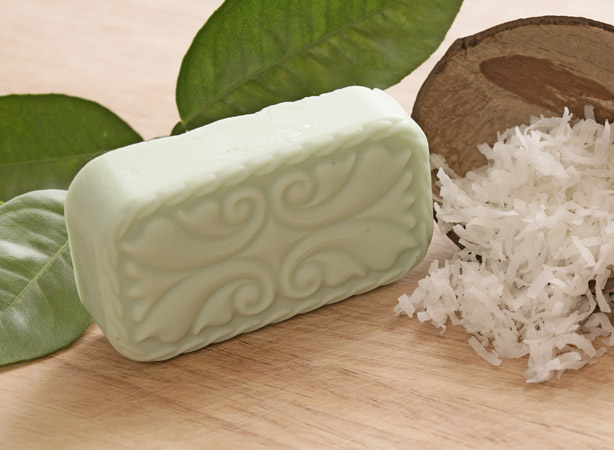 Coconut Lime Verbena Glycerin Soap