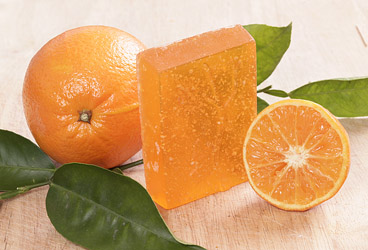 Essential Orange Glycerin Soap