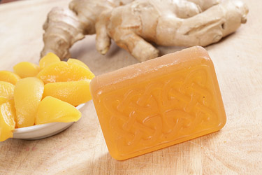 Ginger Peach Glycerin Soap